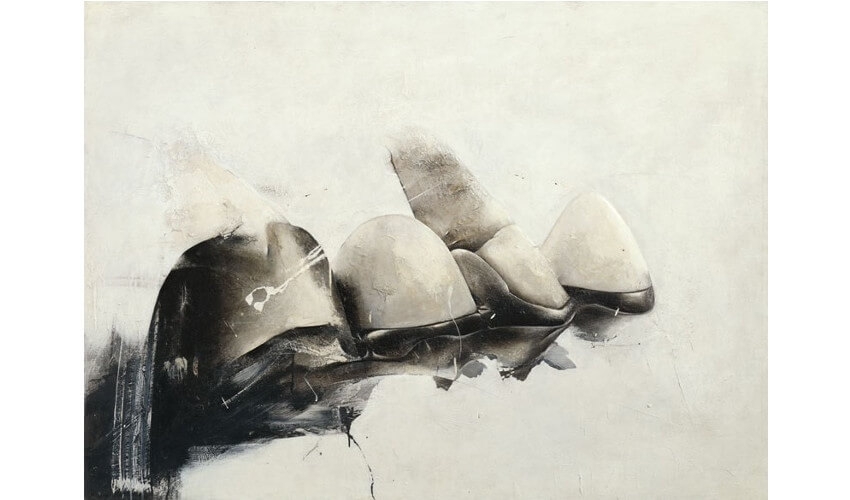 painting by Jay DeFeo at museum and gallery in denver and new york