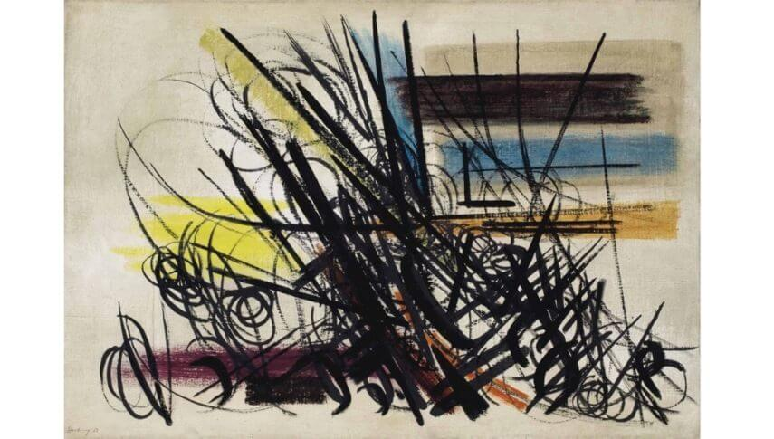 hans hartung painting