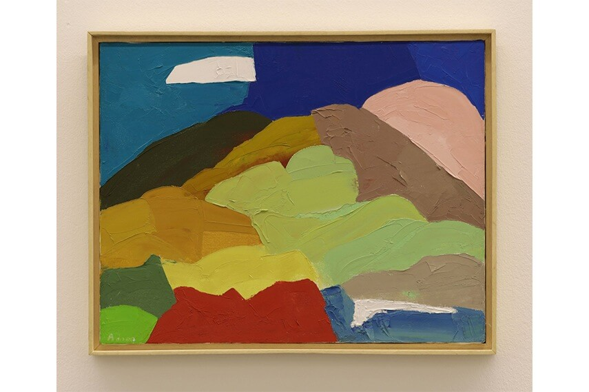 Etel Adnan - Artwork from The Weight of the World exhibition