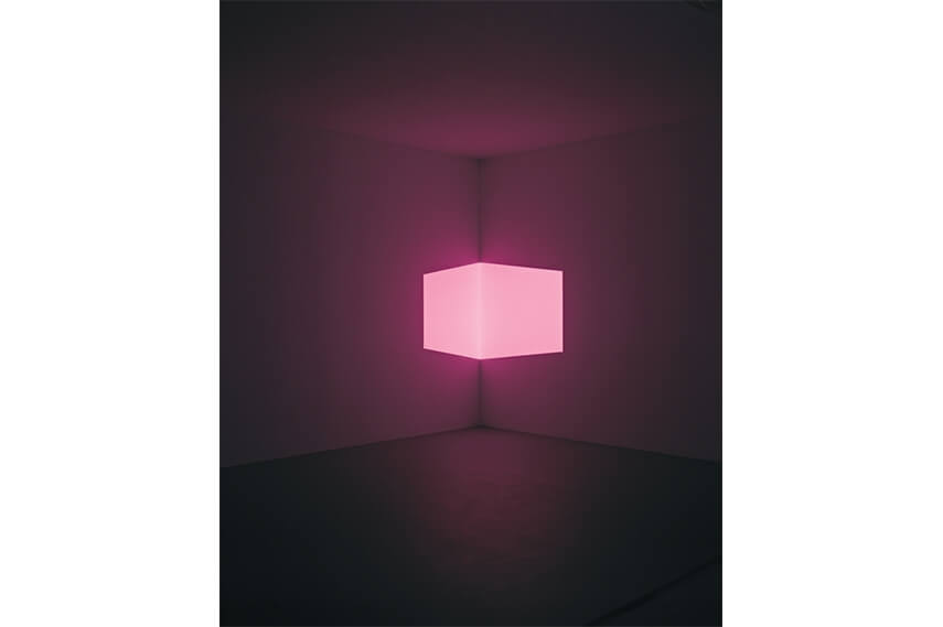 James Turrell - Installation, 1968 Projection