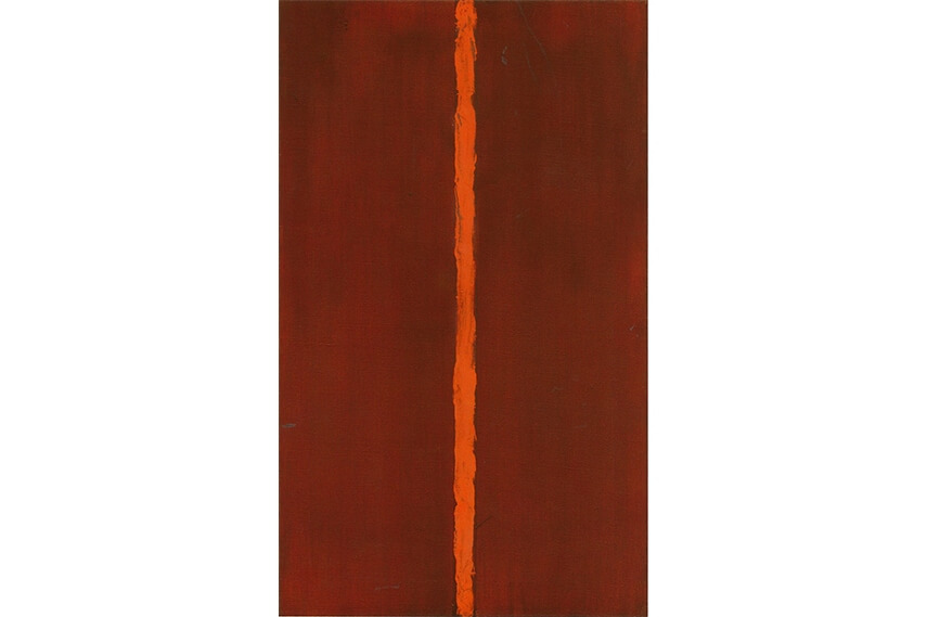 large art painting by artist barnett newman