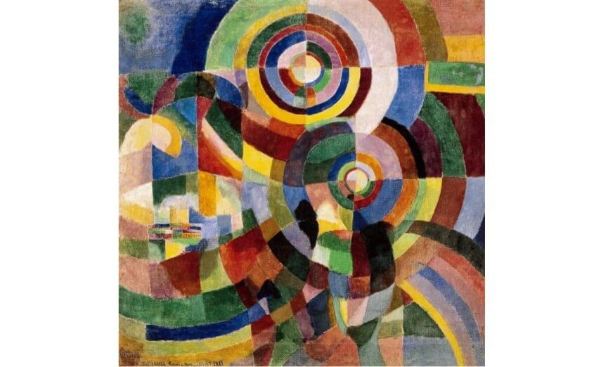 orphic work by sonia delaunay
