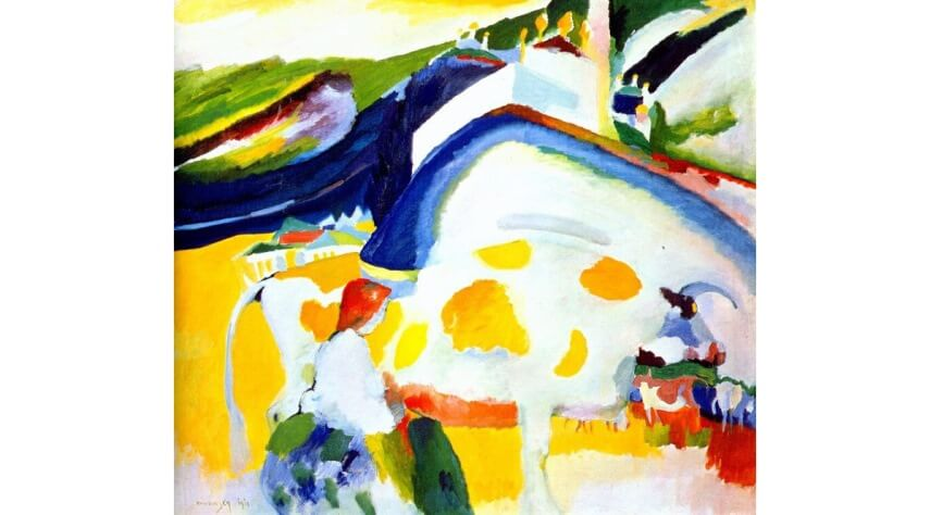 Wassily Kandinsky analytic cubism