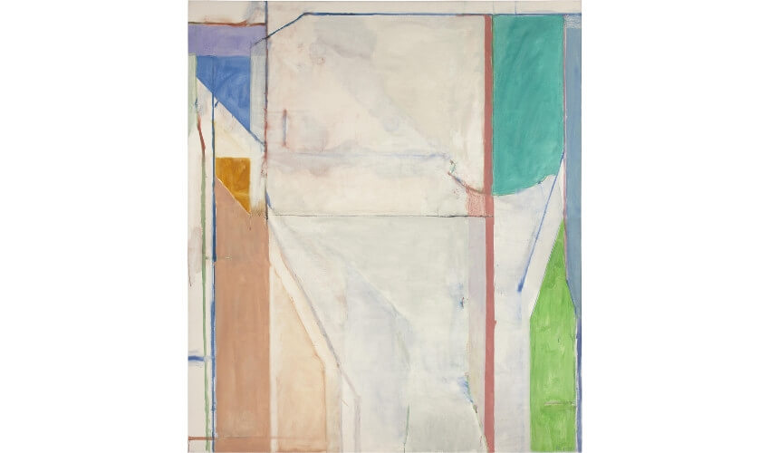 works by american painter richard diebenkorn in san francisco and new york