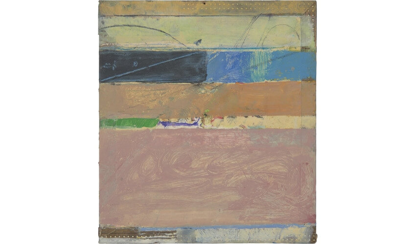 new work by artist richard diebenkorn on view in san francisco and new york museum