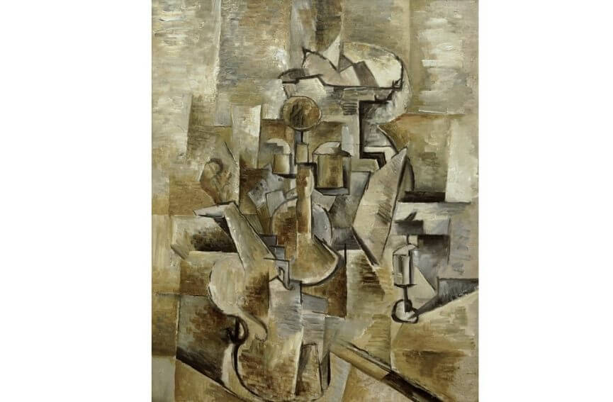 cubism in art and artworks by famous cubist artists