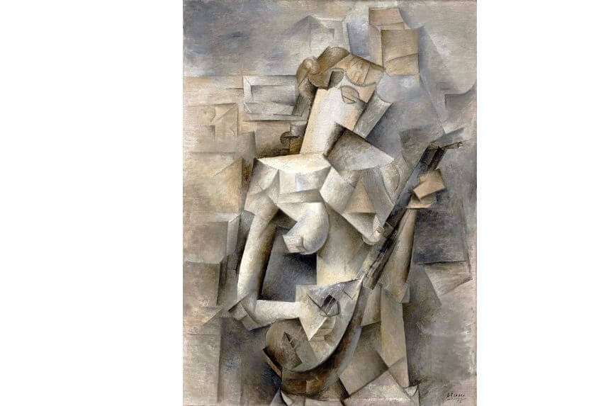 paintings by cubist artists pablo picasso georges braque and paul cezanne