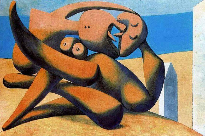 modern cubist paintings by pablo picasso georges braque and paul cezanne in paris