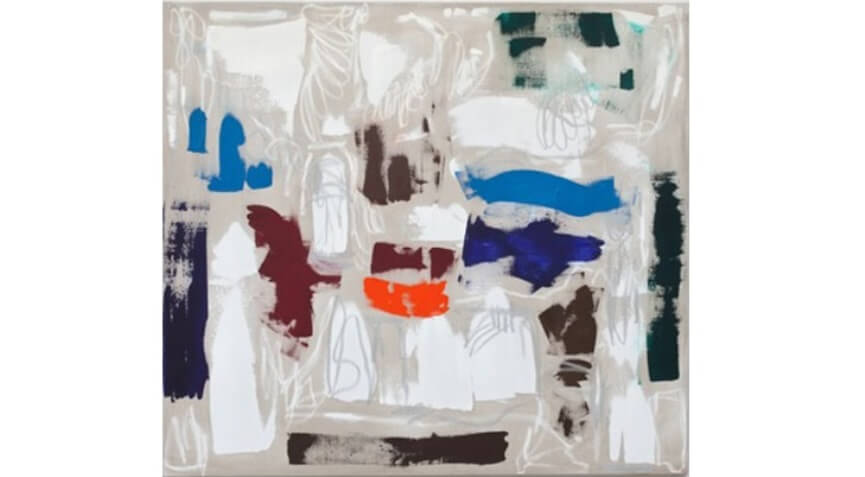modern abstract art painters on view at new york gallery