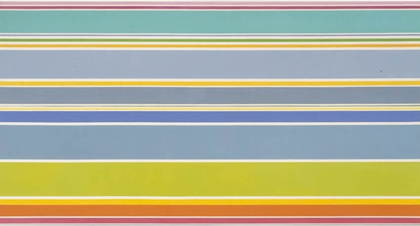 Kenneth Noland paintings and exhibitions
