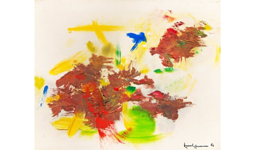 exhibition of hofmann's works in new york gallery and museum