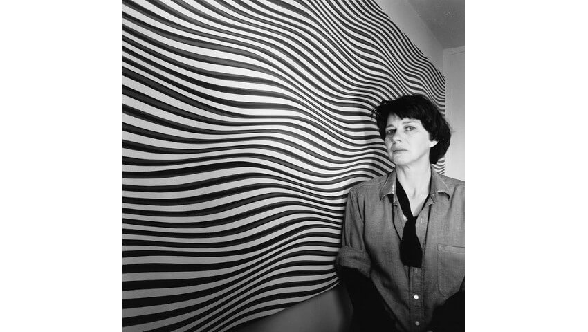bridget riley painter art on view at tate gallery in london and british museum of modern art use