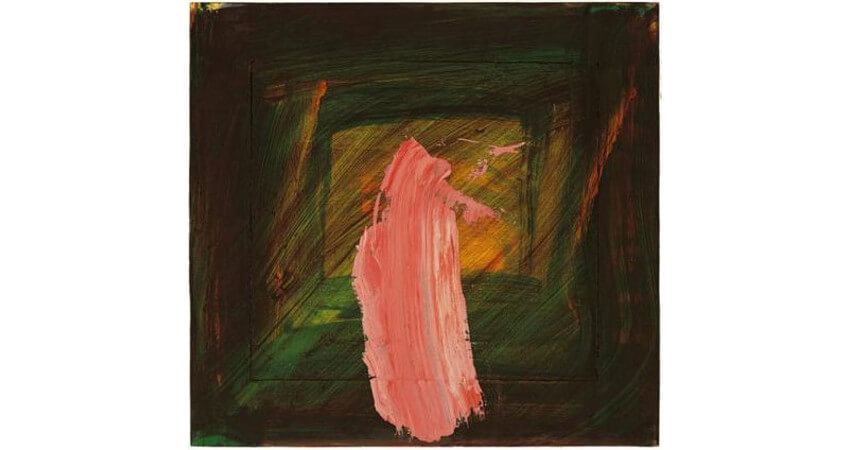 Art by Sir Howard Hodgkin