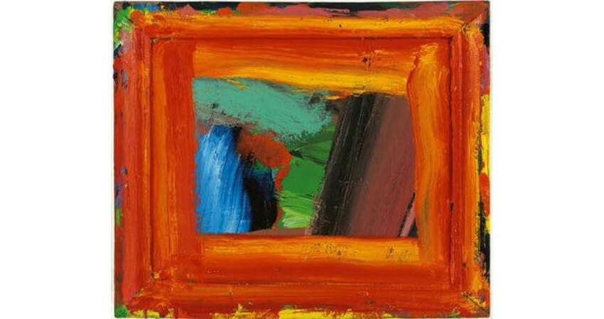 Howard Hodgkin painting