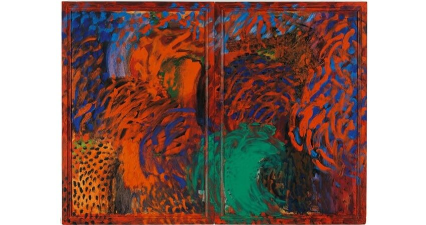 Howard Hodgkin When Did We Go to Morocco