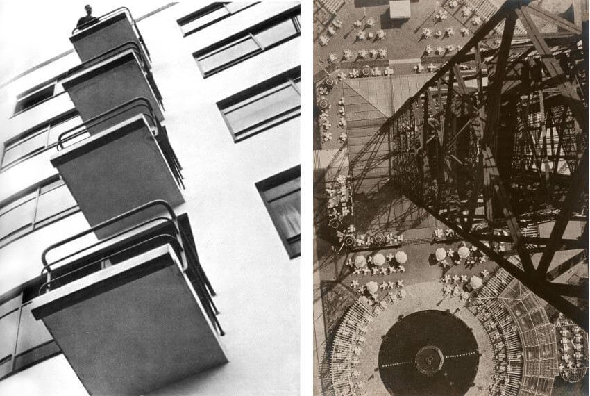 Laszlo Moholy-Nagy a Hungarian painter photographer and professor in the Bauhaus school was born in Chicago