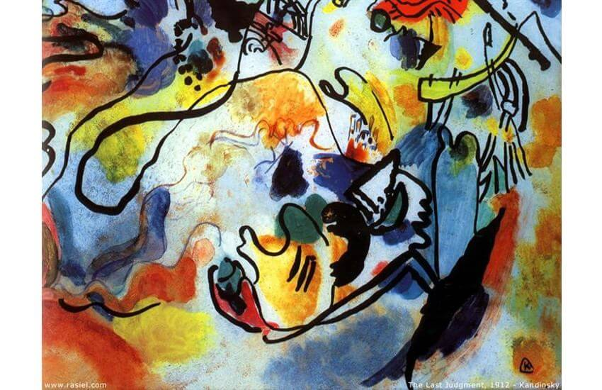 Wassily Kandinsky The Last Judgment