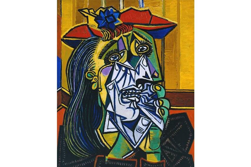Pablo Picasso  and the art of cubism 20th century