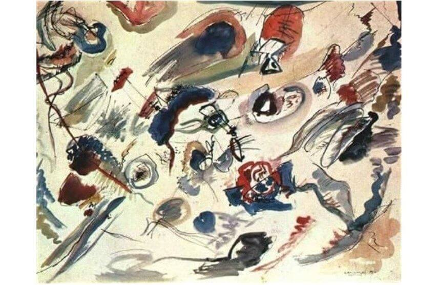 Wassily Kandinsky the first abstract painting - abstract expressionism and the art of 20th century