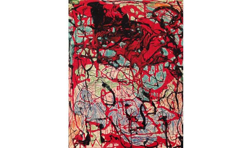 Janet Sobel abstract expressionism painting