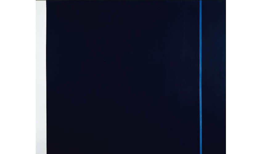 Barnett Newman Midnight Blue