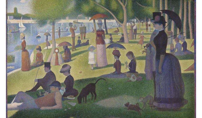 Georges Seurat dot painting artist and pointillism