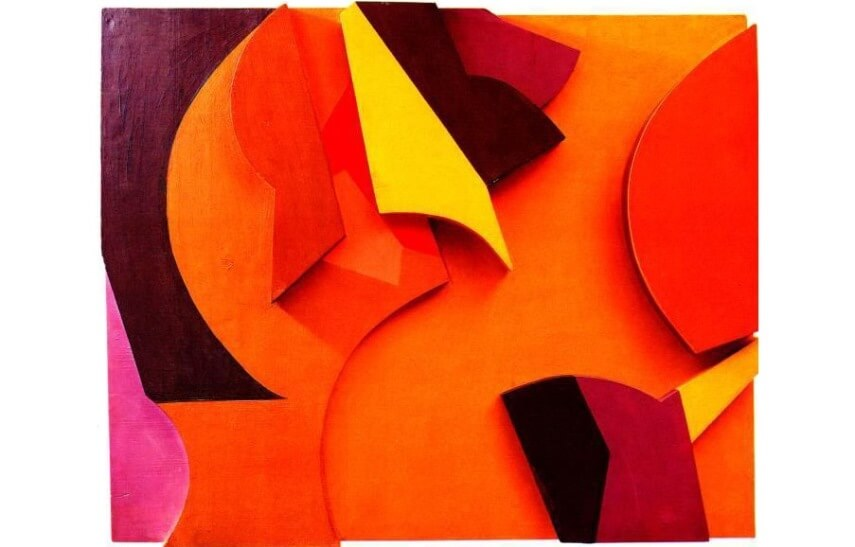 Jean Arp - Abstract Composition
