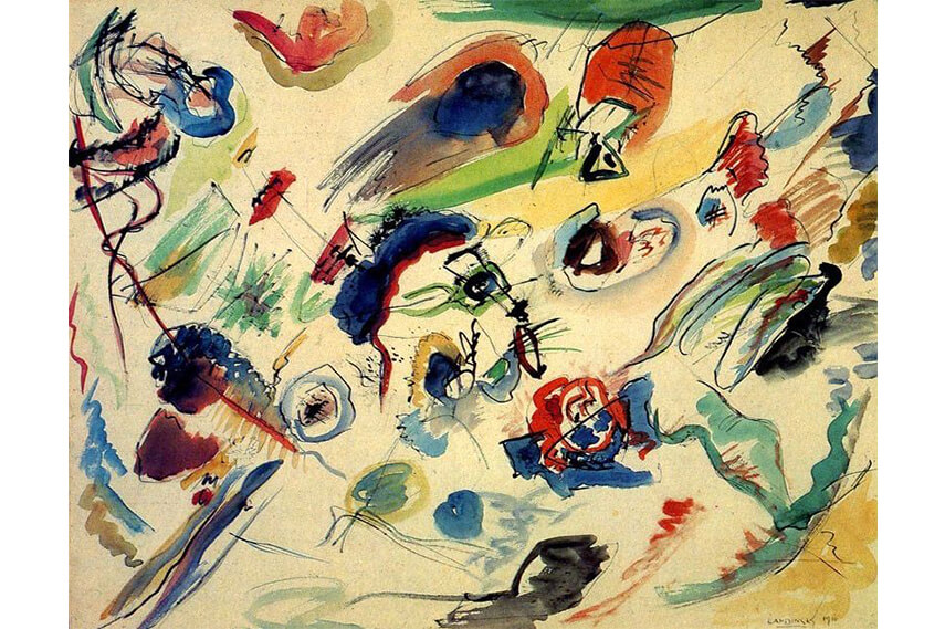 famous abstract art examples and abstract artists