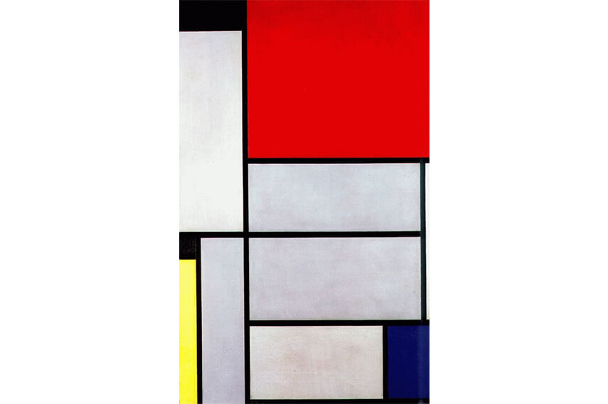 the art of piet mondrian and jackson pollock cubism
