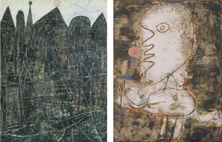 Jean Dubuffet and art brut