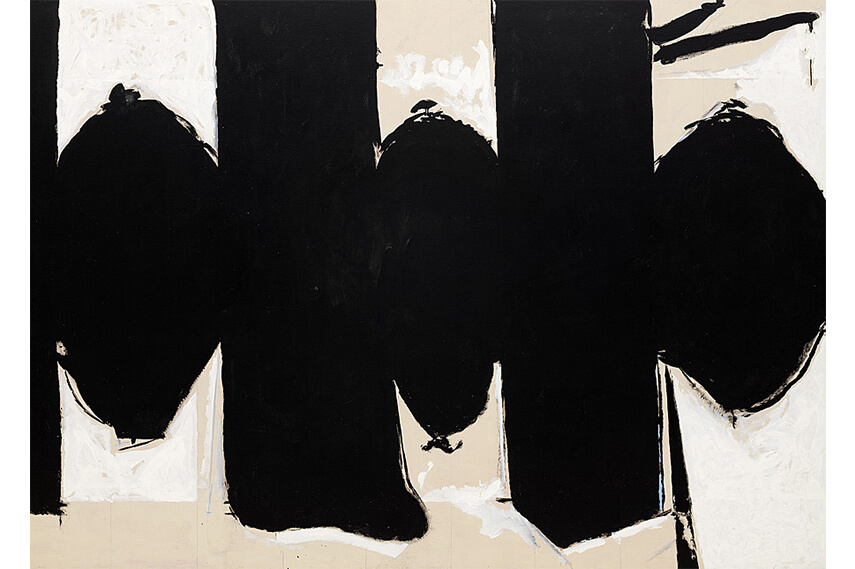 the art of Robert Motherwell and cubism