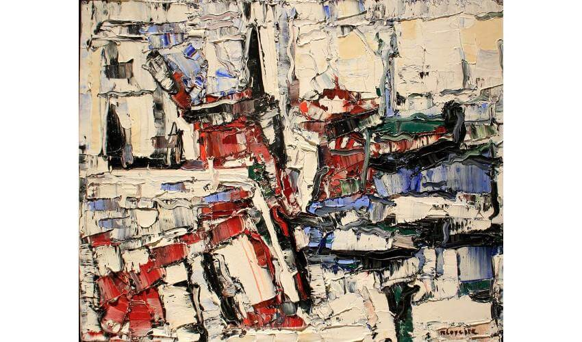 Jean-Paul Riopelle Composition