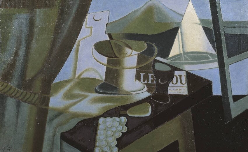 Juan Gris was Spanish artist who was born in 1887 and died in 1927