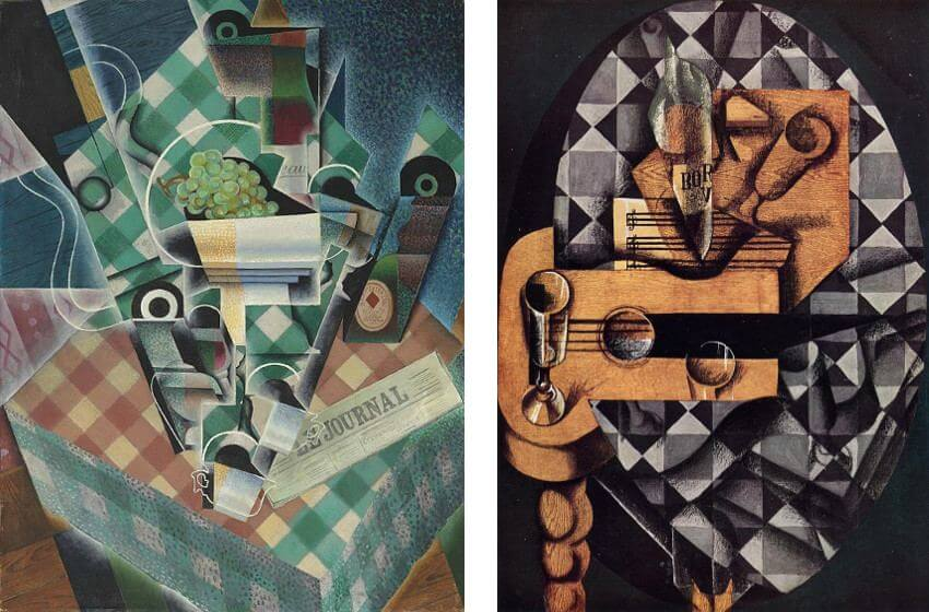 works by spanish painter juan josé gris