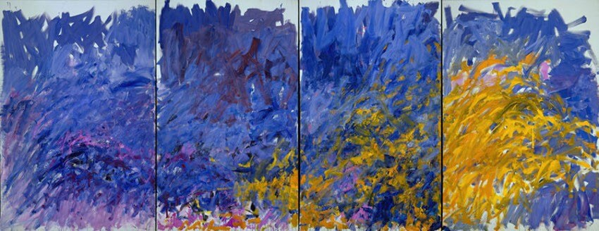 museum exhibitions of works by american artist joan mitchell