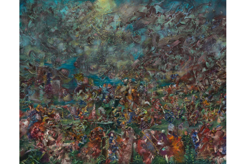 biography exhibitions and gallery works by ali banisadr born in 1976 in tehran iran