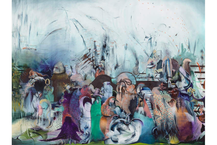 biography and works from middle east by iranian painter ali banisadr