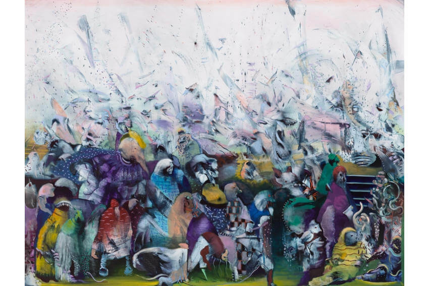 museum exhibitions by iran born and new york based ali banisadr