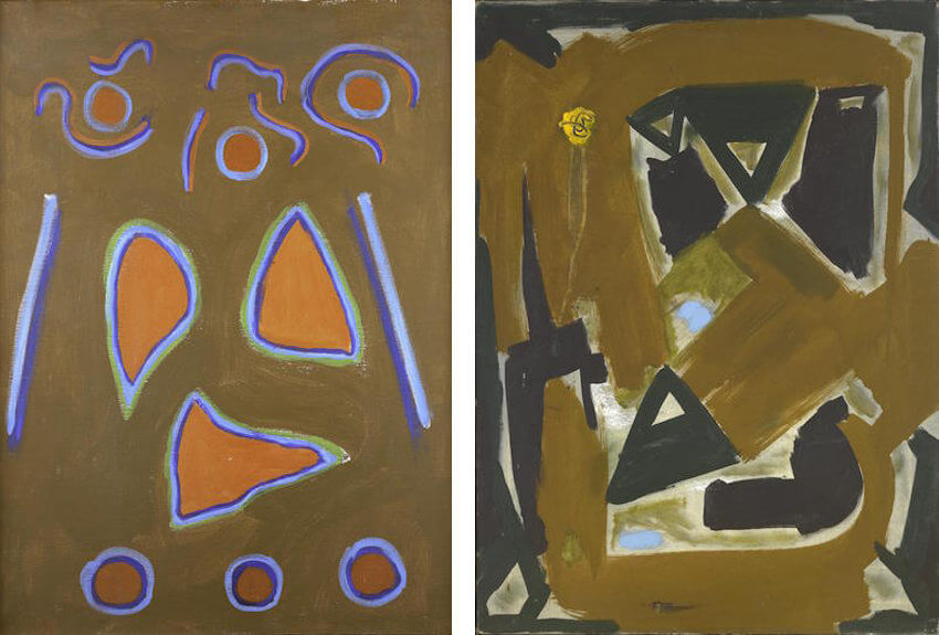 early paintings by american artist art dealer and collector betty parsons