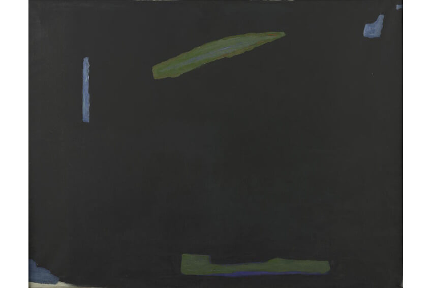 american artist art dealer and collector betty parsons at new york gallery