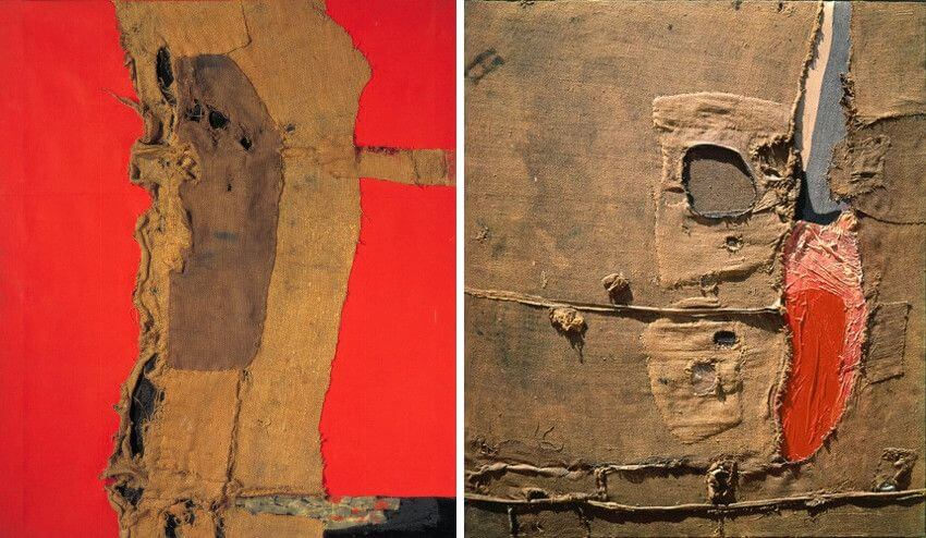 alberto burri 2015 retrospective on view at new york guggenheim museum