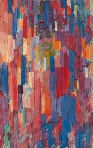 works by frantisek kupka a czech artist born in 1871 and died in 1957 in france
