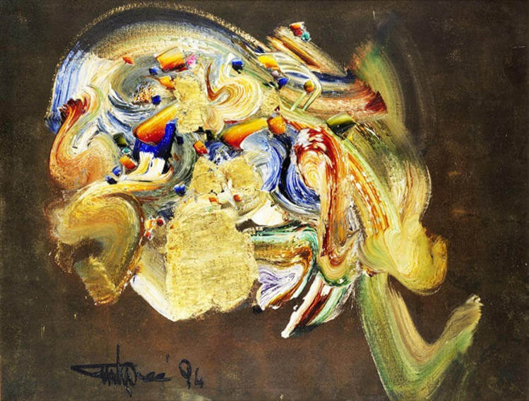 works biography and and family life by pakistani painter ismail gulgee who died in december 2007 in karachi pakistan