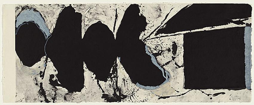 Robert Motherwell Elegy black black