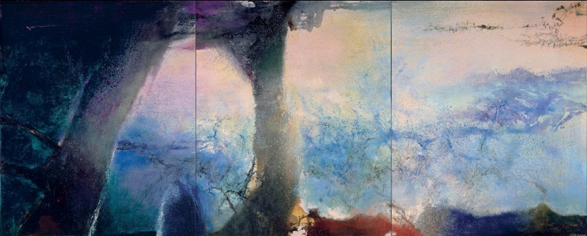 Zao Wou-Ki new painting collection at French Museum of Modern Art