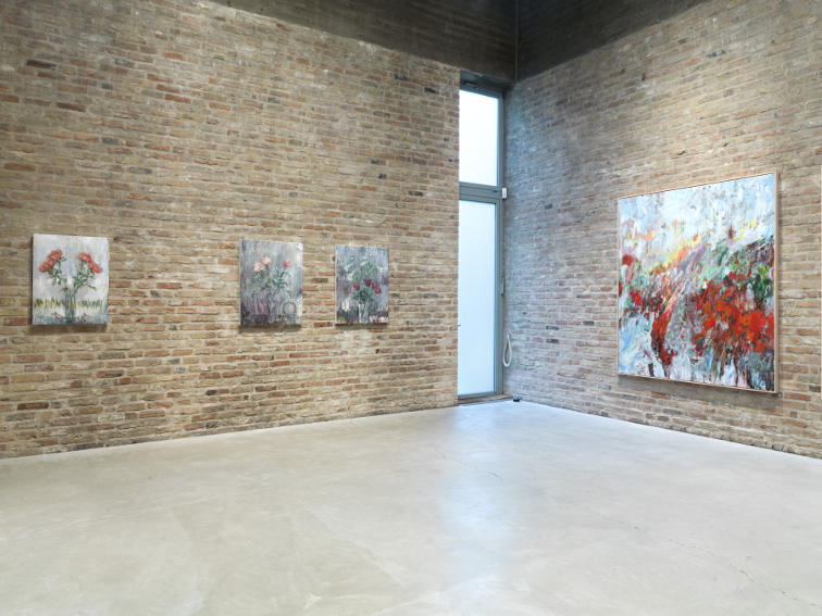 Sabine Moritz exhibition view at Konig Galerie in Berlin
