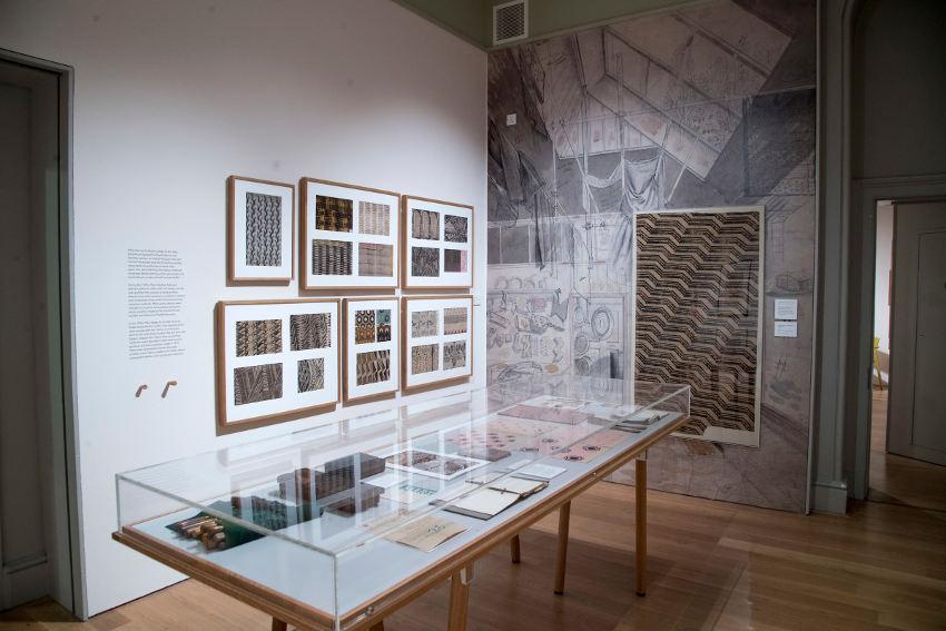Exhibition of work by British painter and designer Marx Enid