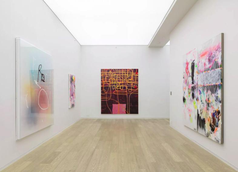 Jeff Elrod, Alex Hubbard, Yang Shu art exhibition at Simon Lee Gallery