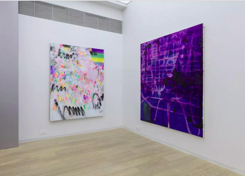 Art of Jeff Elrod, Alex Hubbard, Yang Shu at Simon Lee Gallery, Hong Kong