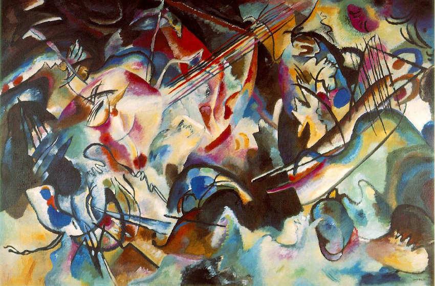 Wassily Kandinski Composition VI